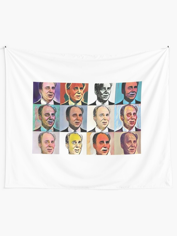 Alternate view of John Daker - Multicolour FanPop Tapestry
