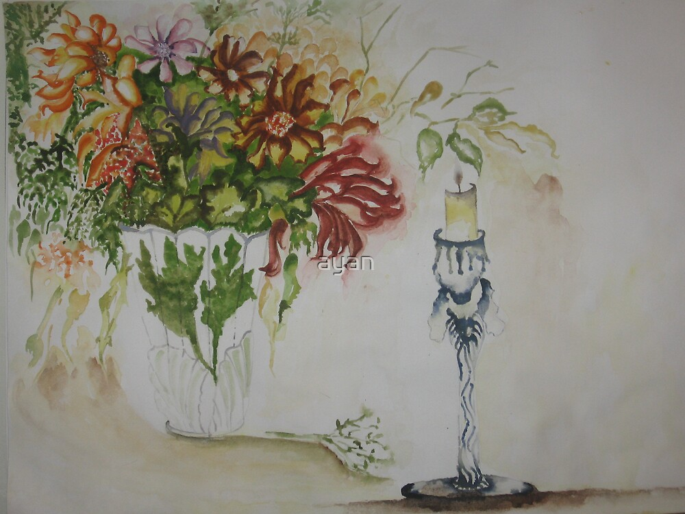 still life Size 29x42 cm by ayan