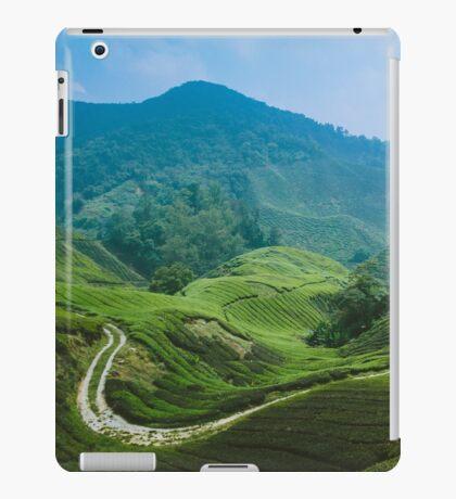 Tea Plantation, Malaysia. iPad Case/Skin