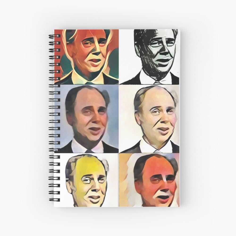 John Daker - Multicolour FanPop Spiral Notebook