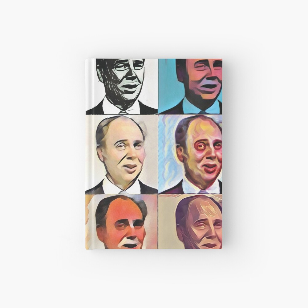 John Daker - Multicolour FanPop Hardcover Journal