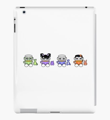 Tea & Story Time is a Family Affair: The Yo O'BABYBOT Toy Robots 1.0 iPad Case/Skin