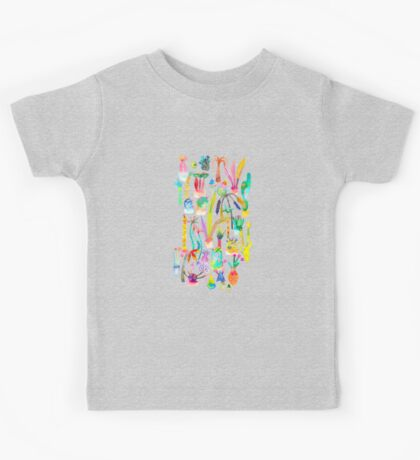 Lush and dreamy cacti garden Kids Clothes
