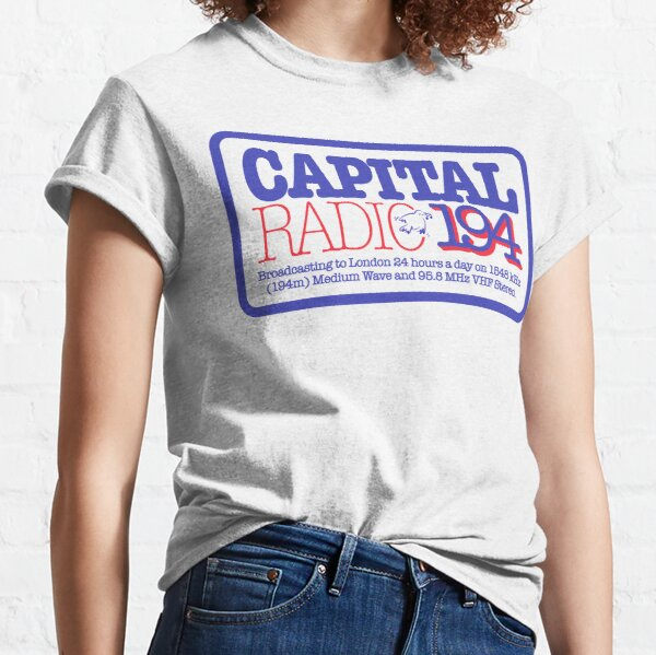 NDVH Capital Radio (2) Classic T-Shirt