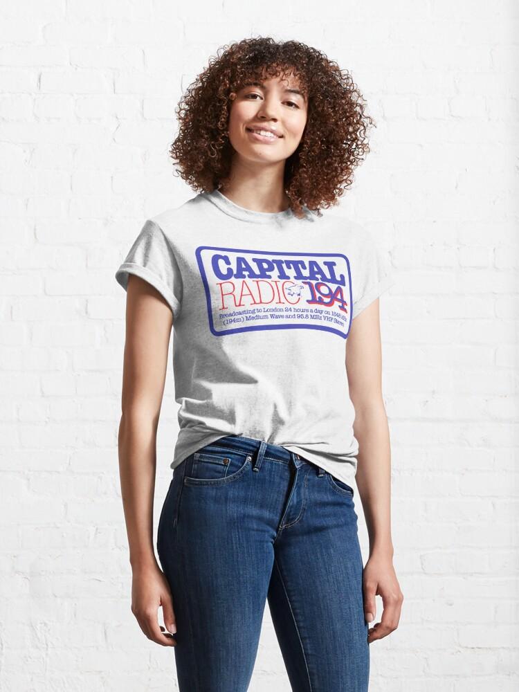 Alternate view of NDVH Capital Radio (2) Classic T-Shirt