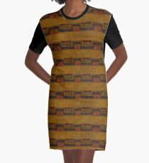 Monkey Do Graphic T-Shirt Dress