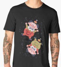 Tweedledum & Tweedledee - Alice in Wonderland Men's Premium T-Shirt