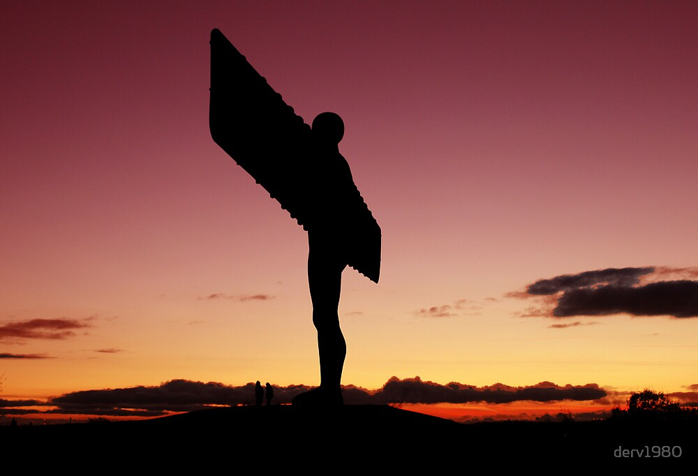 Angel of the North by derv1980
