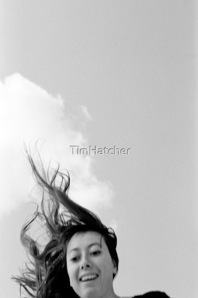 Portrait - Louise in Flight by TimHatcher