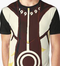 Naruto Uzumaki Nine Tailed Beast Chakra Mode Graphic T-Shirt