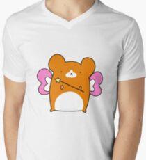 Fairy Hamster  Men's V-Neck T-Shirt
