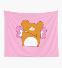Fairy Hamster  Wall Tapestry