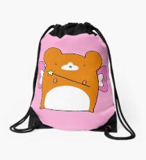 Fairy Hamster  Drawstring Bag