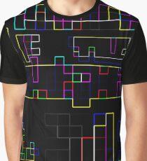 Random Colorful lines Graphic T-Shirt