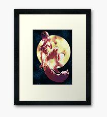 Howl to the Moon [Original] Framed Print