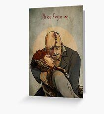 Frankenstein- Paradise Lost Greeting Card