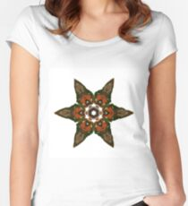 Stars1 Women's Fitted Scoop T-Shirt