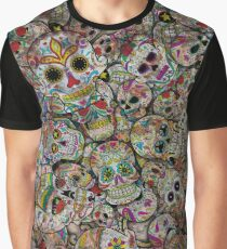Bunch of Sugar Skulls Graphic T-Shirt