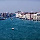 Entrance to Grand Canal in Venice Italy by Yukondick
