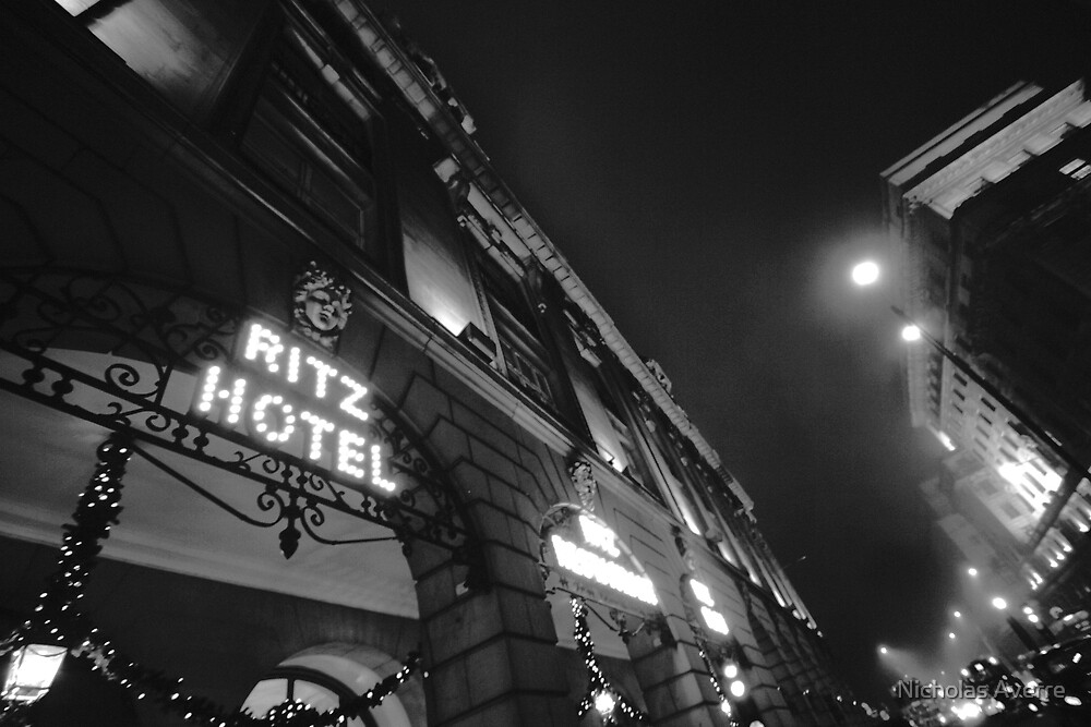 A night at the Ritz by Nicholas Averre