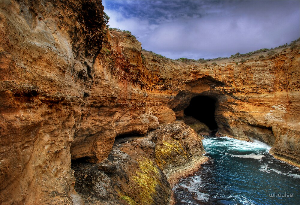 Great Ocean Road Series - Thunder Cave (Lower View) by whoalse