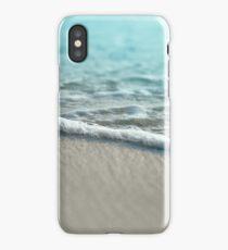 Sea Foam Sand Beach iPhone Case/Skin