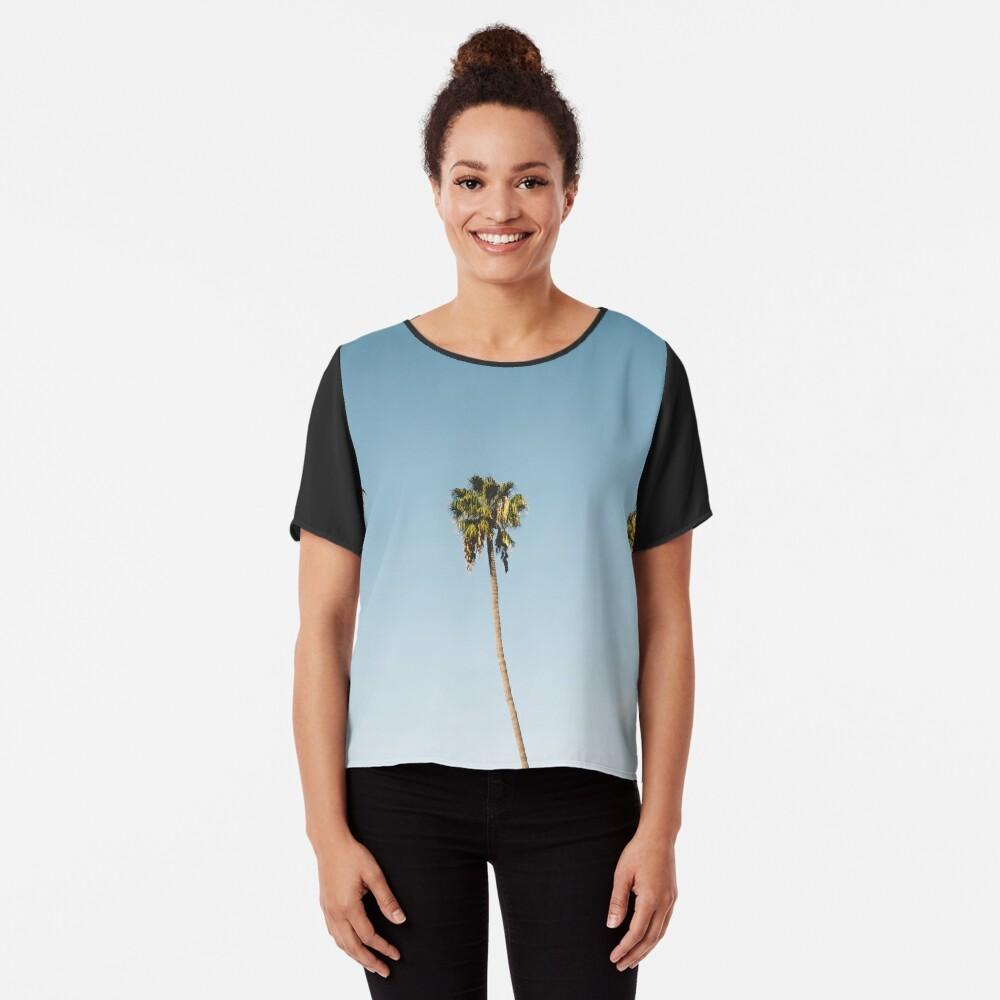 Tres palmeras Blue Sky California Blusa
