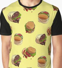 Burger Time Graphic T-Shirt