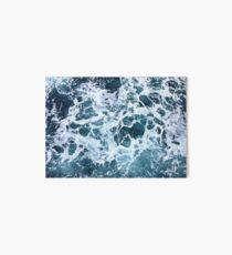 Ocean Sea Splash Churning Waves Art Board