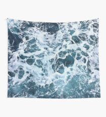 Ocean Sea Splash Churning Waves Wall Tapestry