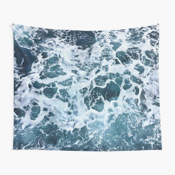 Ocean Sea Splash Churning Waves Tapestry