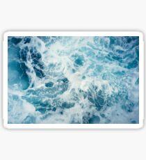 Sea Waves in the Ocean Sticker