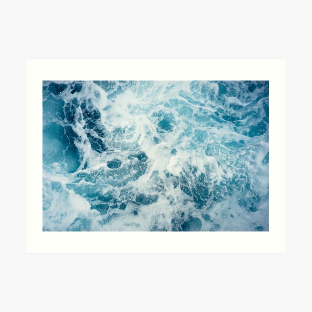 Sea Waves in the Ocean Art Print