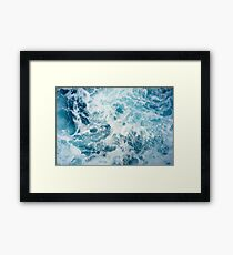 Sea Waves in the Ocean Framed Print