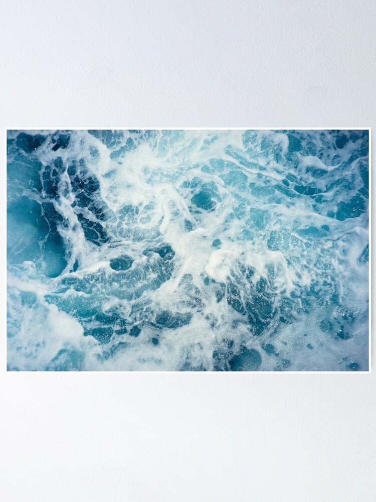 Alternate view of Sea Waves in the Ocean Poster