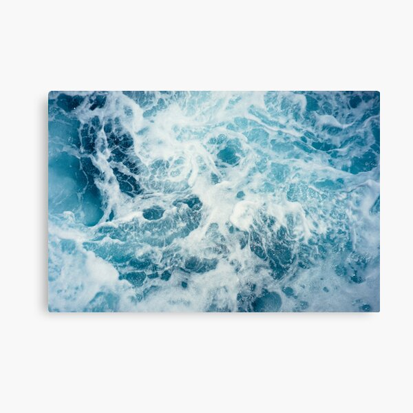 Sea Waves in the Ocean Canvas Print