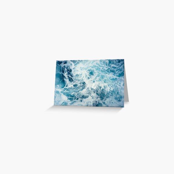 Sea Waves in the Ocean Greeting Card