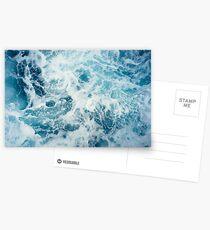 Postales Olas del mar en el océano