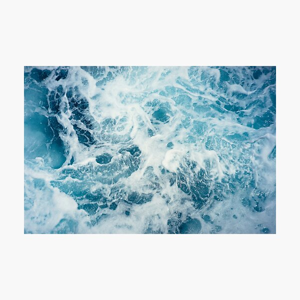 Sea Waves in the Ocean Photographic Print