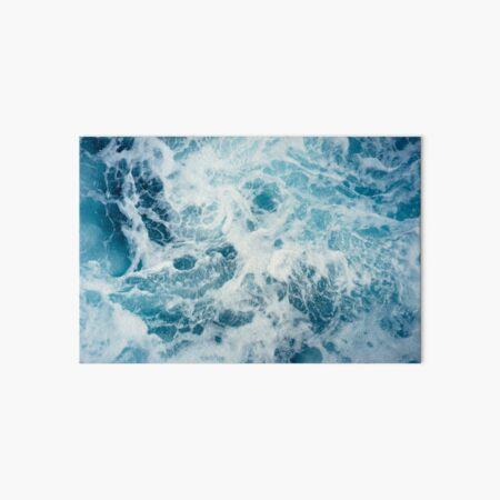 Sea Waves in the Ocean Art Board Print