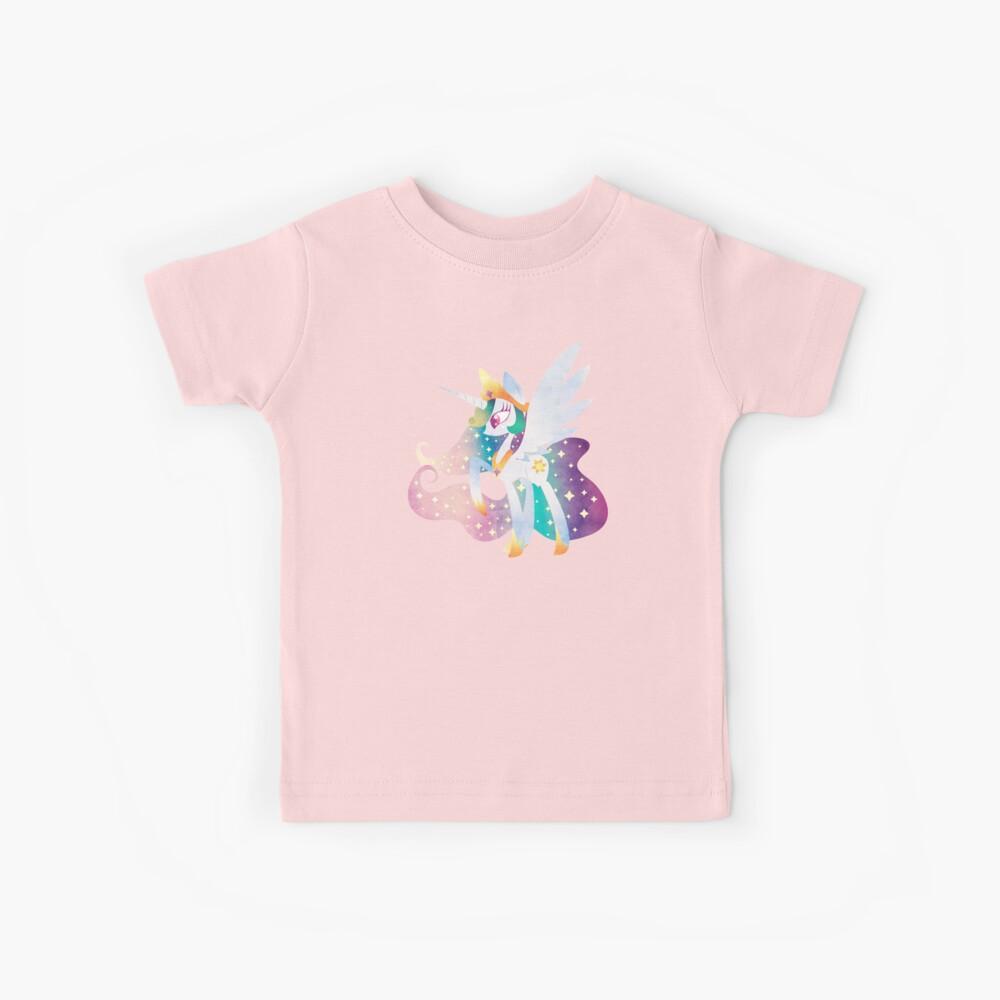 Celestia of Equestria Kids T-Shirt