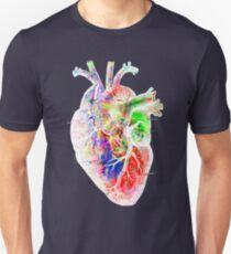 Colourful Heart Unisex T-Shirt