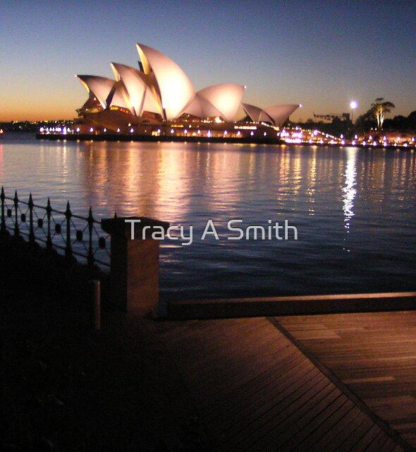 SYDNEY ON THE ROCKS by Tracy A Smith