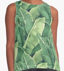 Banana leaves IV Contrast Tank