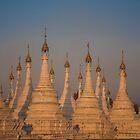 Myanmar. Mandalay. Sandamuni Pagoda. by vadim19