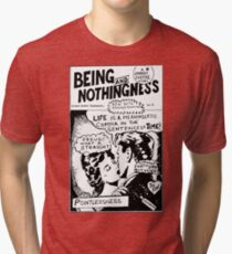 Being And Nothingness Tri-blend T-Shirt