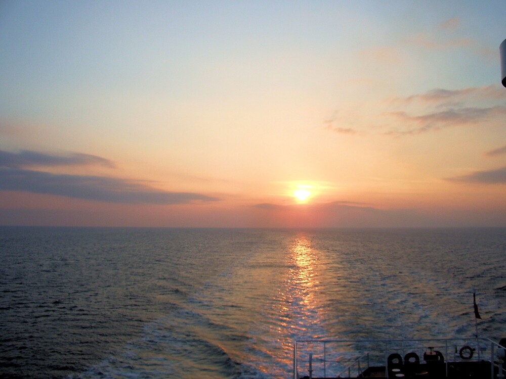 Mediterrenean Sunset by Andy Carleton