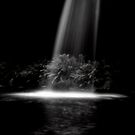 Lower Kalimna Falls B&W by PristineImages