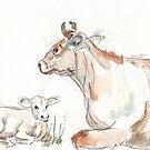 Daisy, die Jersey-Kuh von Maree Clarkson