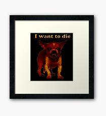 death dog Framed Print